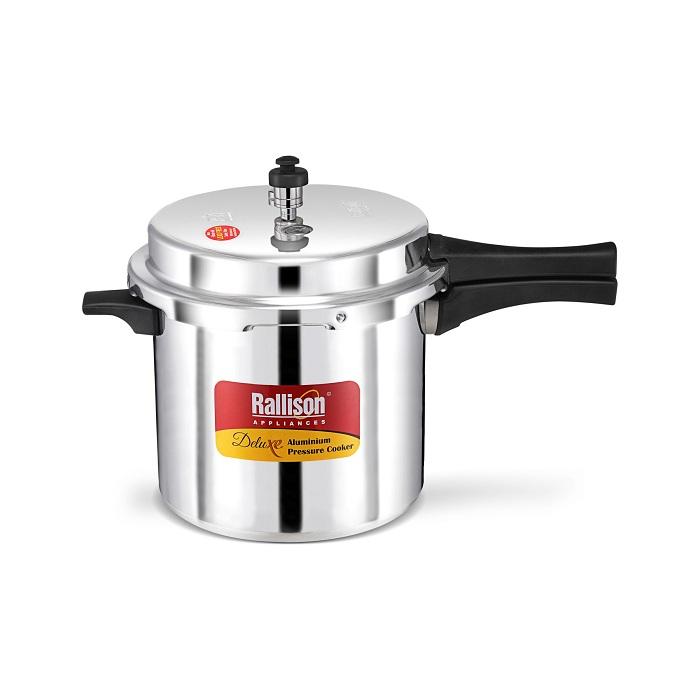 Rallison pressure cooker Deluxe 12 ltr (Aluminium)