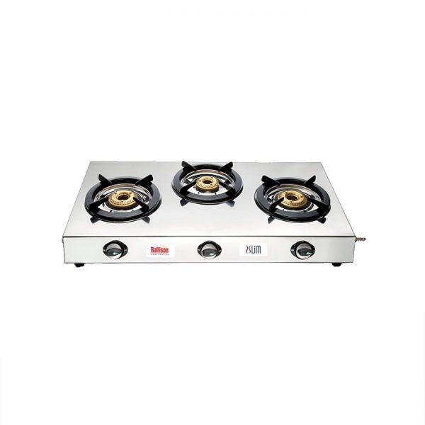 Rallison Appliances Slim3B Steel Manual Gas Stove